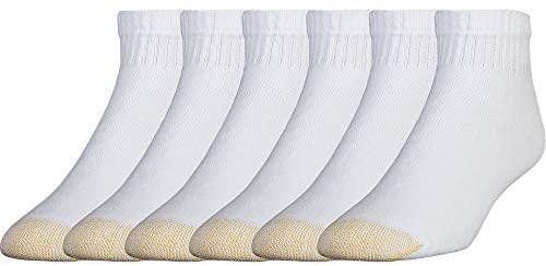 Gold Toe Men's 656p Cotton Quarter Athletic Socks, Multipairs