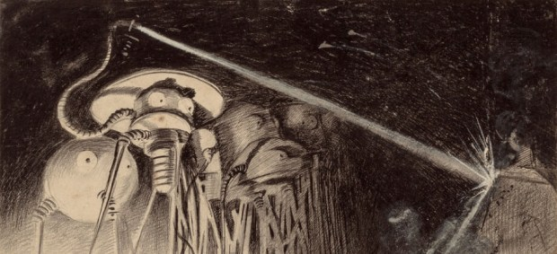 Henrique Alvim Corrêa illustration for War of the Worlds by H. G. Wells