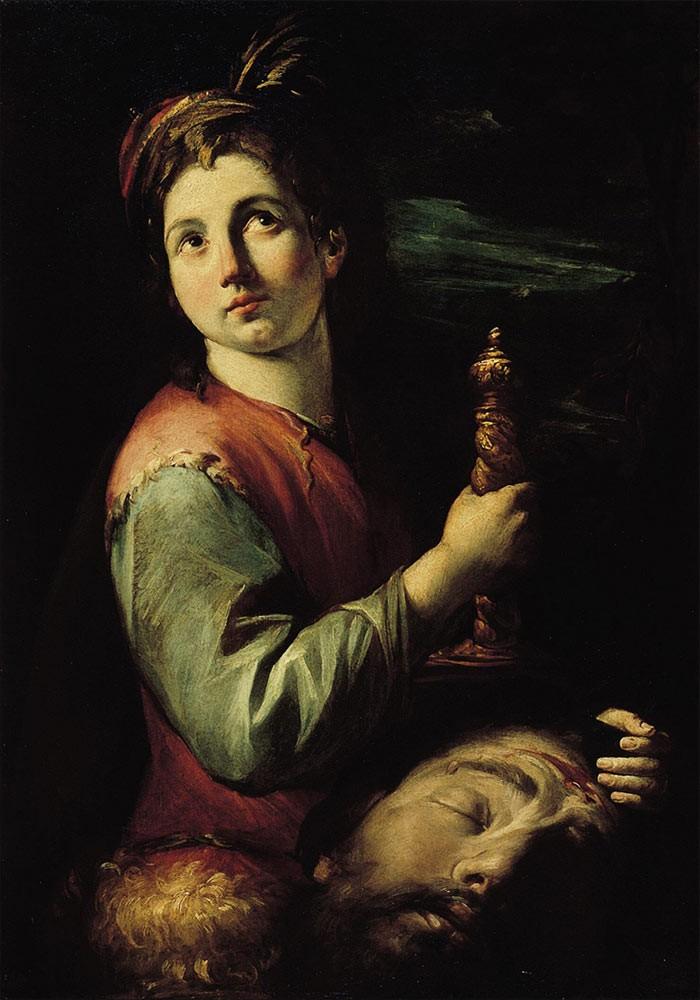 Assereto, Gioacchino - David with the Head of Goliath