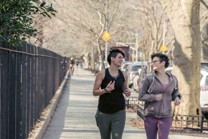 women running aiming for better health