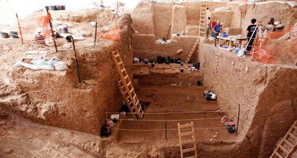 Ανασκαφές στην πόλη Ραμλά (Πηγή: ΑΠΕ-ΜΠΕ)