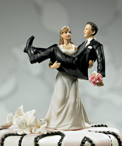 Funny Wedding Cake Toppers   Weirdomatic Cake Topper