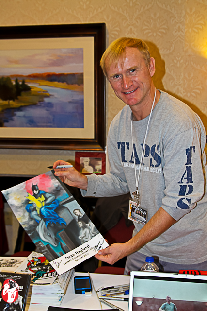 Dean Haglund and his print he autographed for me!