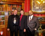 Pop, Nancy, and I at the Magic Castle - Photo by Bonnie Ball