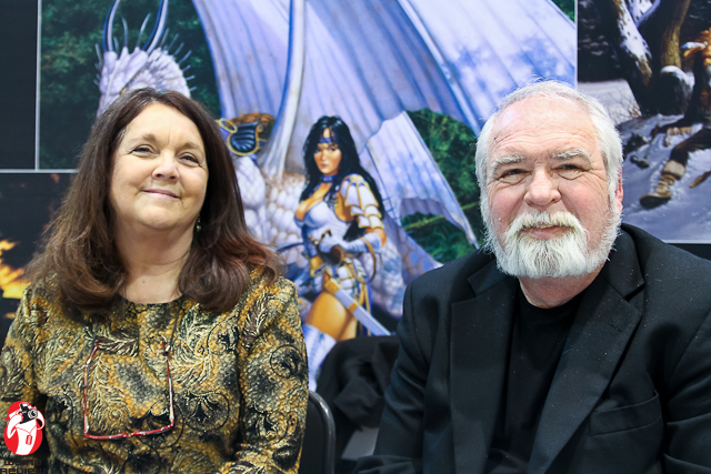 Betty and Larry Elmore at Wizard World New Orleans 2012