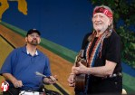 Willie Nelson was one of many superstar performers to grace a stage during the two weekends of music at the 2011 New Orleans Jazz and Heritage Festival. - Photo by Captain Brian Epstein