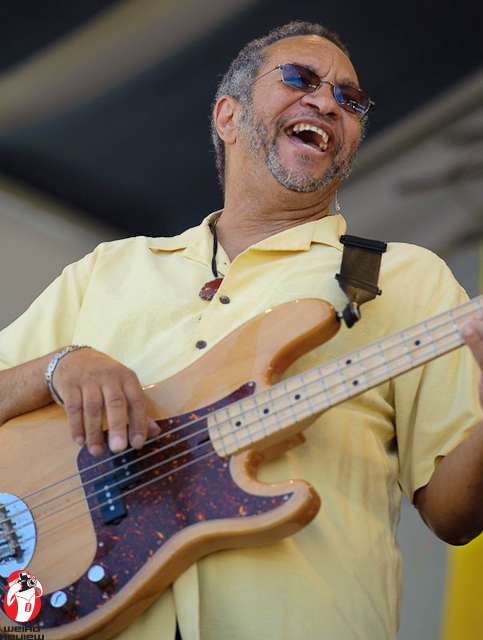 Geore Porter, Jr., the man credited with being the inventor of the funky bass style in the 1970s, is always a crowd favorite at the New Orleans Jazz and Heritage Festival. Look for him to play some blazing sets of music with the Meters and his own band, George Porter, Jr. and the Runnin' Pardners.