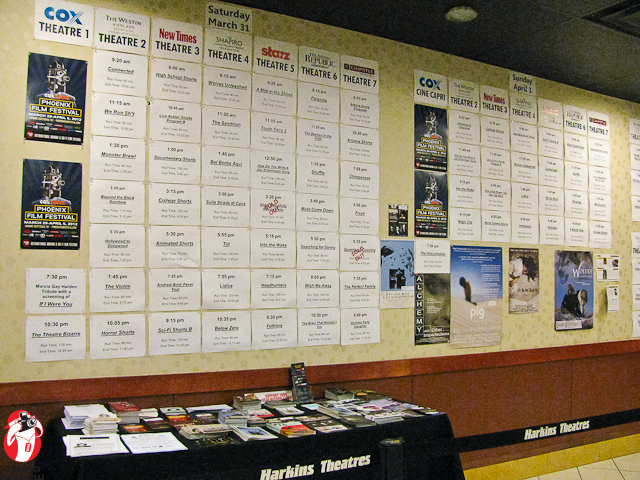 There was plenty to choose from at the Phoenix Film Festival