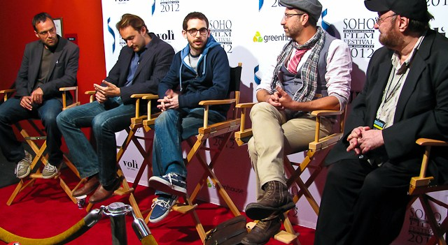 """Q&A after the screening of """"Pig"""" at the Soho Film Festival"""