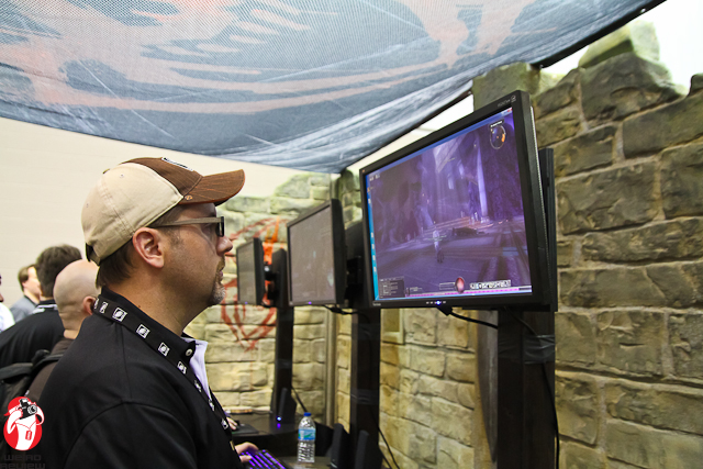 Playing Dungeons and Dragons Online at Gen Con 2012!