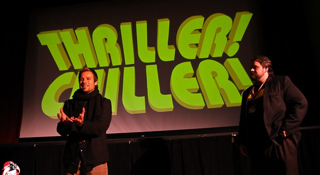 """Adam Lamas at the Thriller! Chiller! """"Empty House"""" Q & A"""