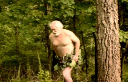 Another Bigfoot sighting? No, Just Larry Elmore in the season one premiere of Brothers Barbarian
