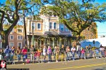 Parade goers lined the streets of Mobile