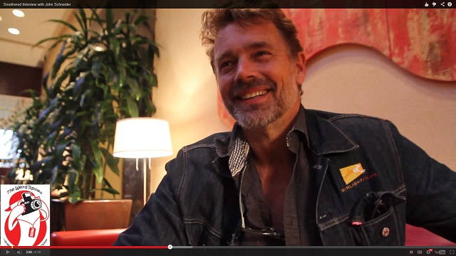 """John Schneider after the sneak peek at his new movie, """"Smothered"""""""