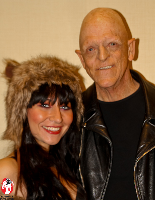 Elissa Dowling and Michael Berryman at Days of the Dead in Chicago