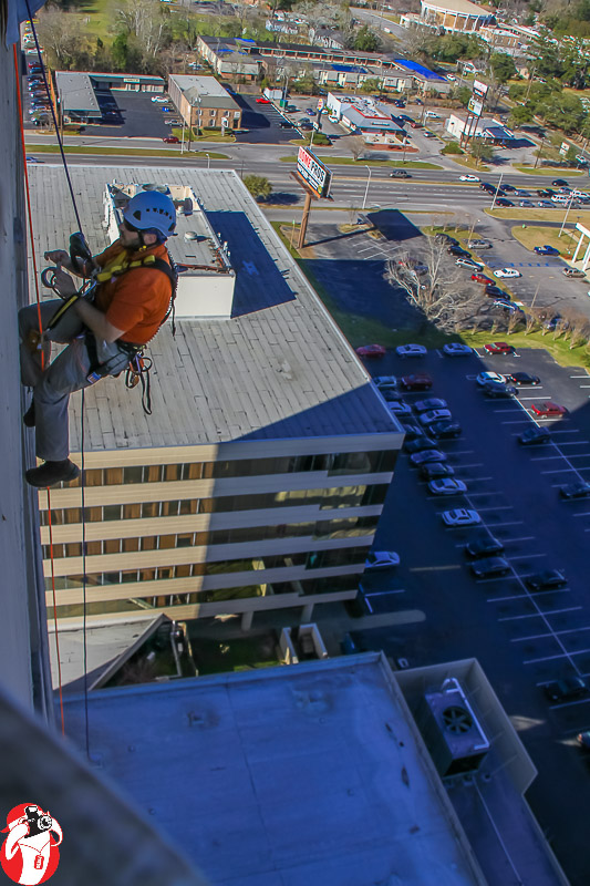 Over the Edge at Marriott in Mobile