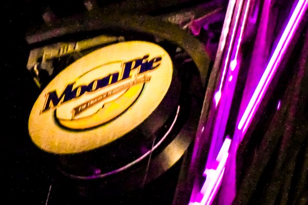 The New Year's Eve MoonPie drop in Mobile, Alabama