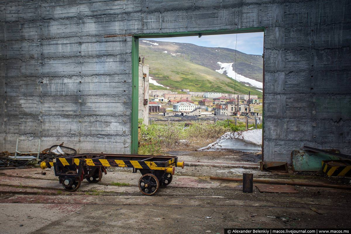 Abandoned Town of Gudym: The Secret Missile Base in Chukotka
