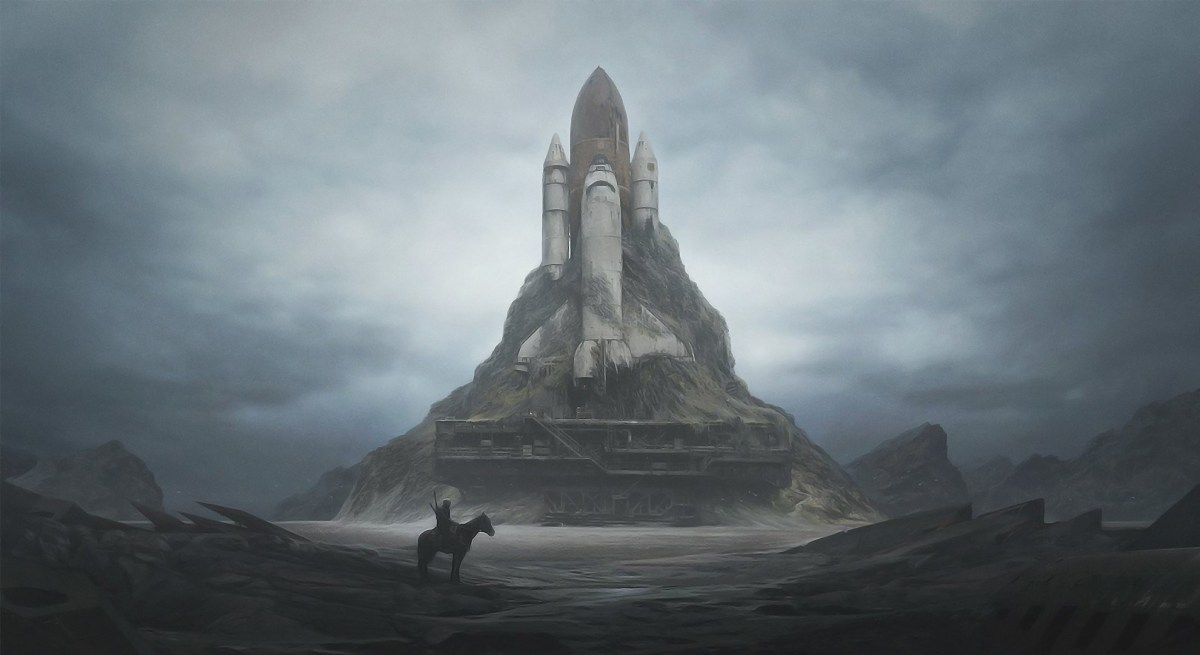 Post-apocalyptic art by Yuri Shwedoff