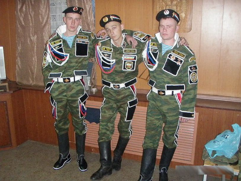 Dembel Madness: Over-the-top Military Uniforms of Demobilized Servicemen