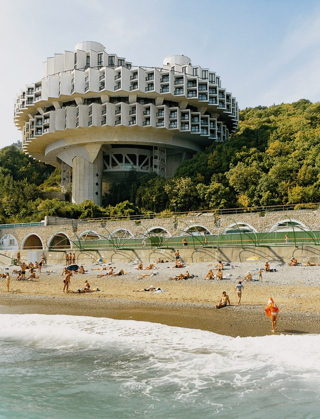 Architecture communiste Frederic-chaubin-druzhba-holiday-center-hal-yalta-1984-3