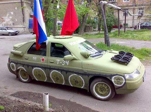 This mod of T-34 gone a bit awry