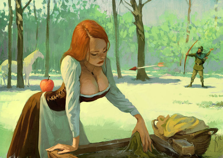 Controversial Illustrations By Waldemar Kazak