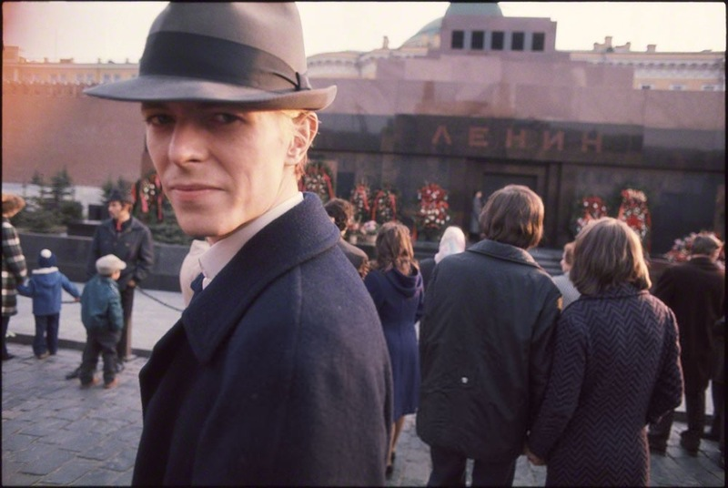 David Bowie on a tour of the Soviet Union in 1973
