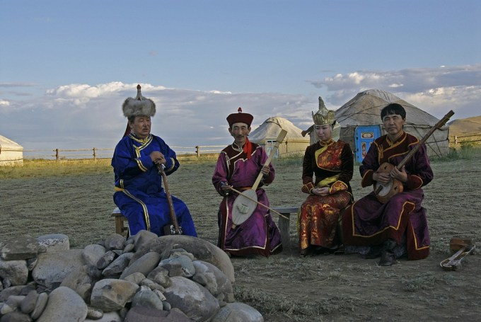 Tuvan throat singers Photo by  cjuel/Flickr