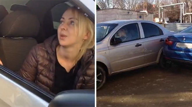 According to Lifenews, the drunk driver's name is Alina Mikhaylenko. She is 27 years old.
