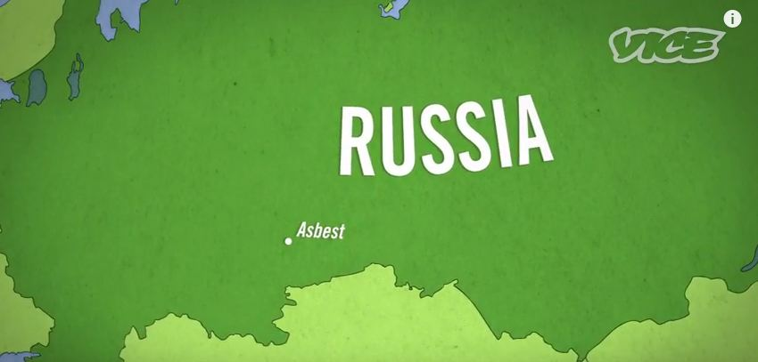 An Interesting Vice Documentary on Asbestos Mining in Russia