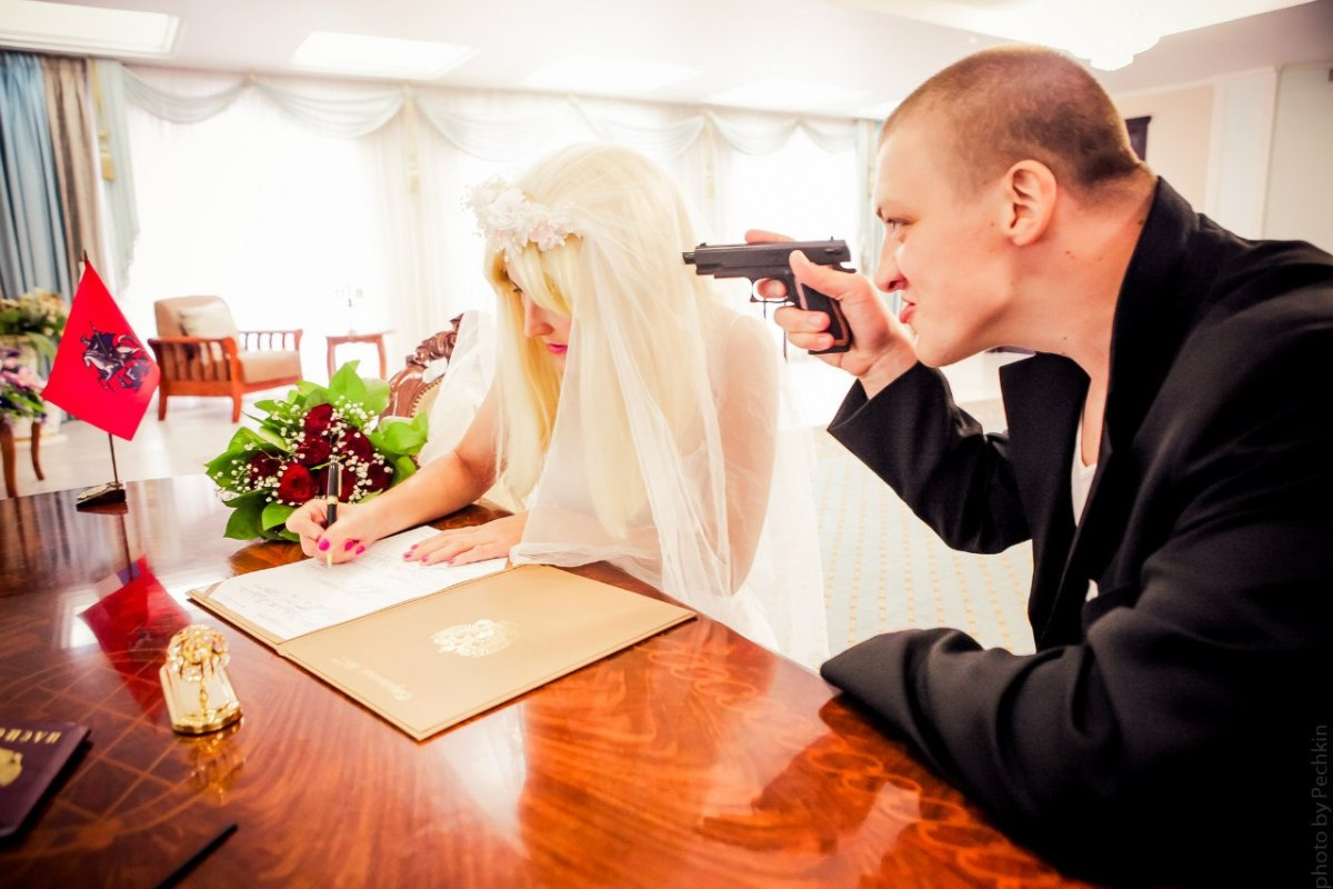 Gopnik Themed Wedding