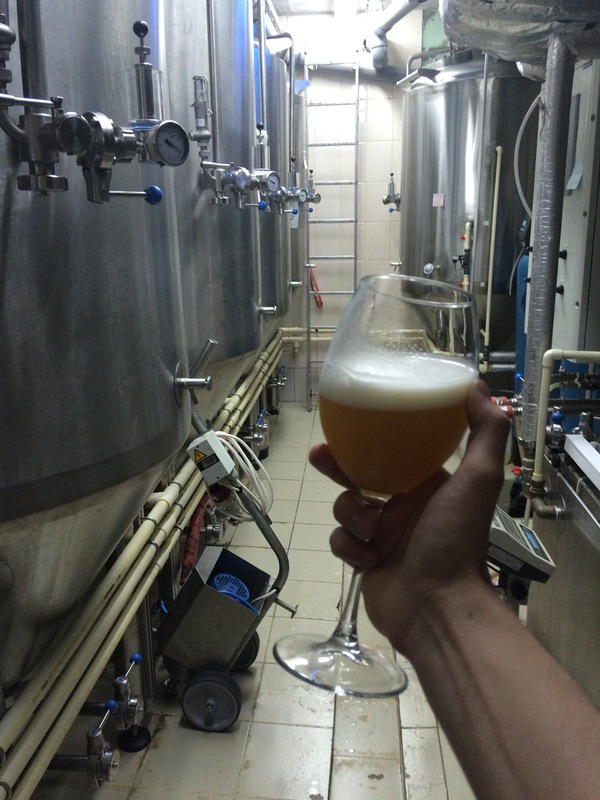User lyziifer works in a brewery