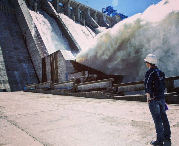 User ZheludOK  is a hydroelectric power plant worker