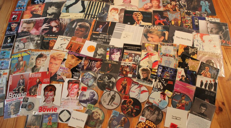 collection-de-vinyls-de-Ziggy-concernant-Bowie
