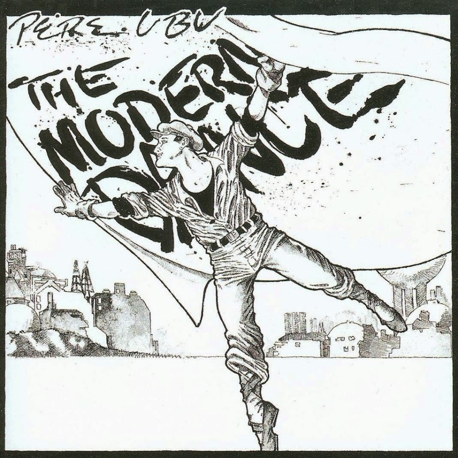pere ubu - the modern dance - 1978 - album cover