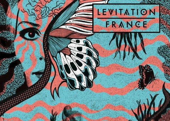Affiche du festival Levitation 2017 à Angers