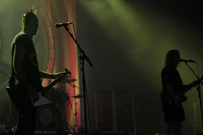 Ultra Vomit au Festival Couvre-Feu à Frossay, édition 2018