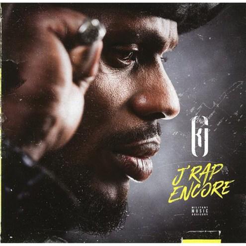 Kery James - J'rap encore, pochette de l'album