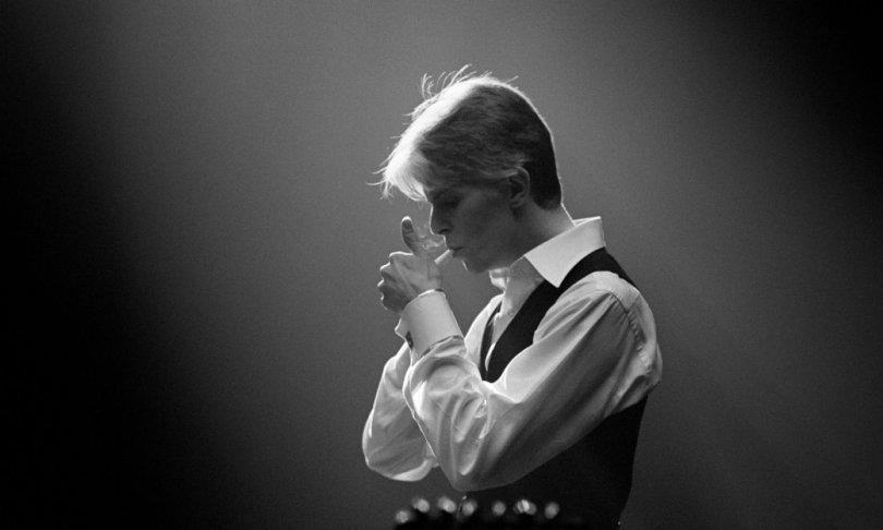 David Bowie à l'époque de Station to Station