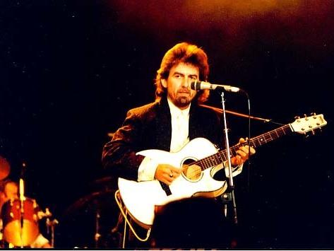George Harrison, 1987