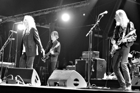 Patti Smith et Lenny Kaye Guéret Août 2019 photo 2 benoit weirdsound