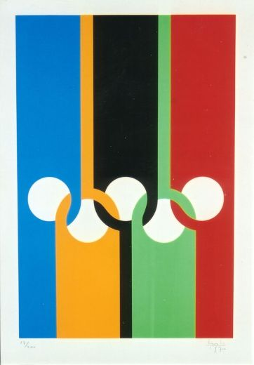 03-olympic poster by Max Bill (1970)
