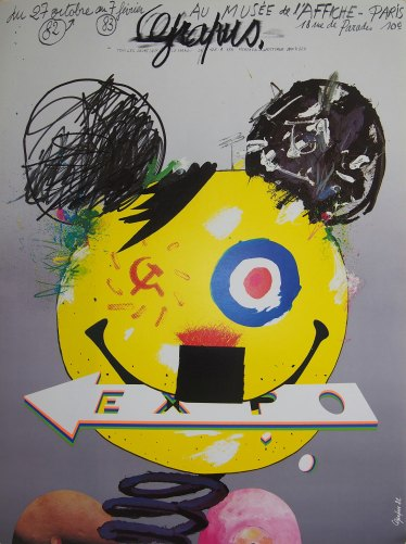 Joan Miró Original Collectible Exhibition Poster 1973 - Vintage Limited Edition Poster
