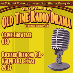 Audio cover for Richard Diamond Private Detective - The Ralph Chase Case