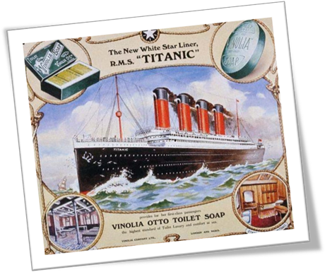 Advertisement for the RMS Titanic