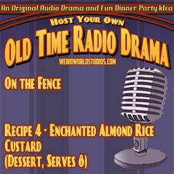 Recipe - Enchanted Almond Rice Custard