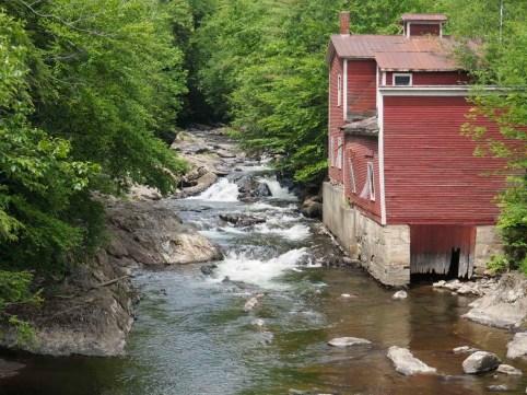 Mill on Lamoille River, Johnson, VT