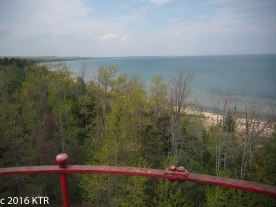 View from Sturgeon Point Lighthouse