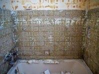 Tile removed